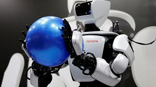 The latest robot technology on show