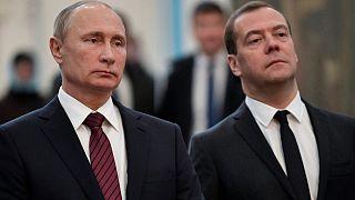 Βλαντιμίρ Πούτιν και Ντιμίτρι Μεντβέντεφ