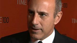 El expresentador estrella de la NBC Matt Lauer pide perdón