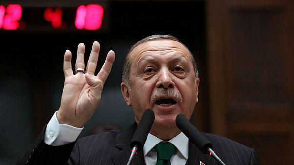 Erdogan acusado en Estados Unidos de evitar las sanciones económicas contra Irán