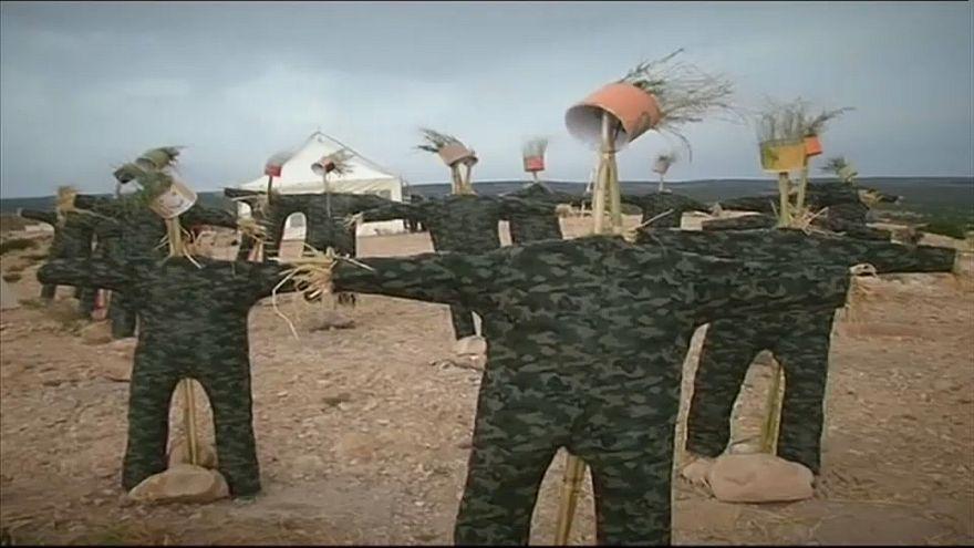 Тунис: детское искусство борется с терроризмом