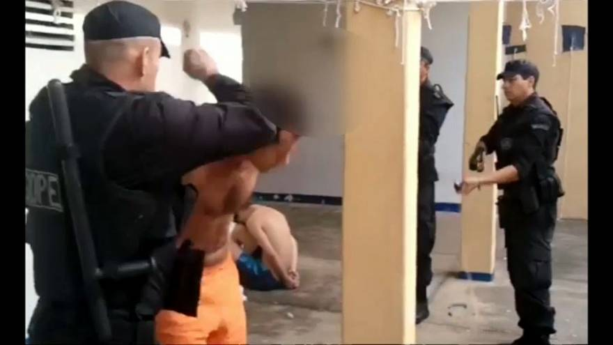 Brazil prison videos spark brutality investigation