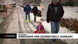 Megérkezett Európába a tél
