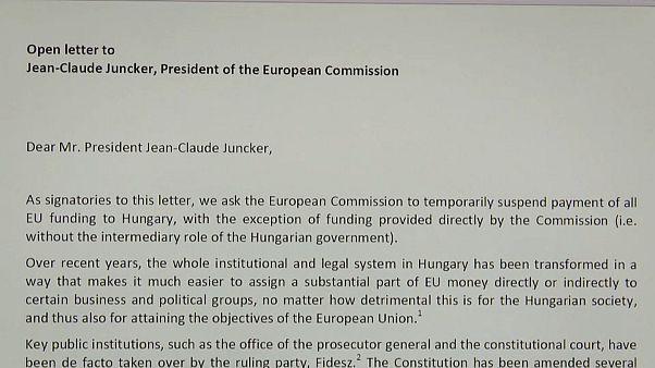 Offener Brief an den Präsidenten der Europäischen Kommission Juncker