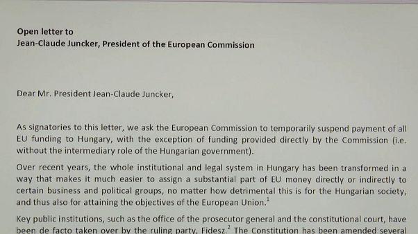 La lettre à l'UE qui fâche Budapest