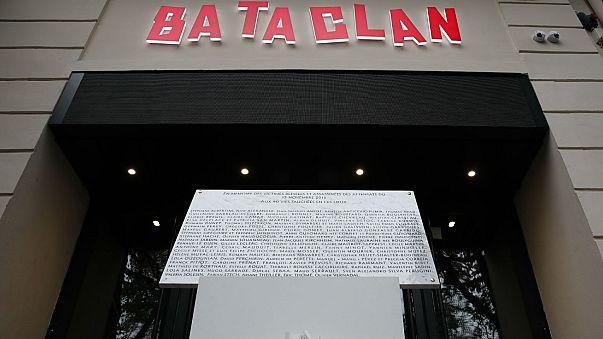 Plaque commémoration attentat Bataclan