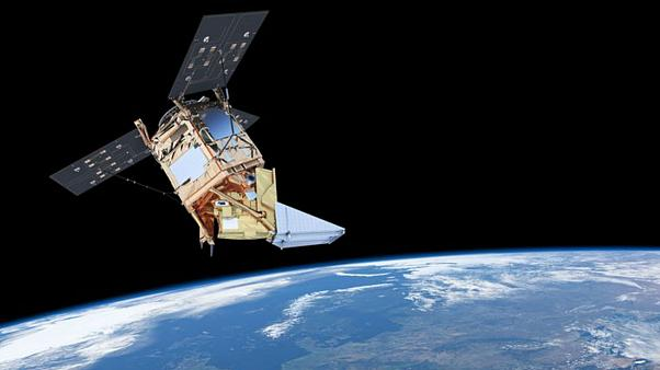 The Sentinel-5P satellite is designed to monitor the world's air pollution