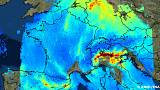 La pollution atmosphérique en Europe photographiée en HD