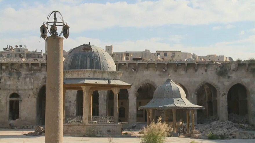 Siria: la difficile ricostruzione della grande moschea di Aleppo