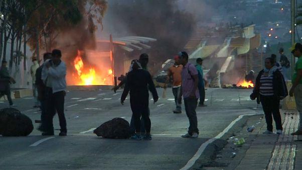 Honduras: quinto giorno di proteste