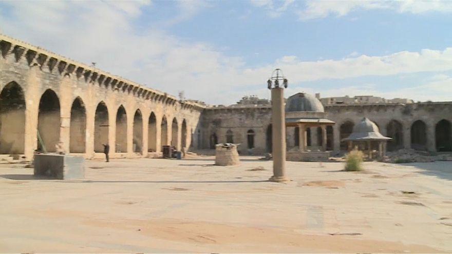 Алеппо: восстановить мечеть