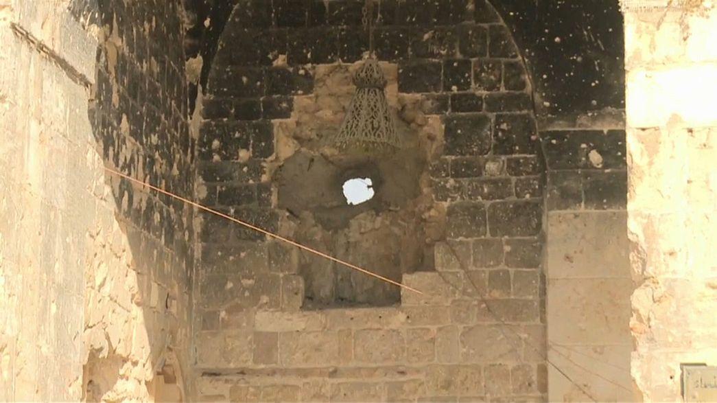 Aleppo: Wiederaufbau der Moschee