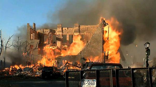 Televizyonda gördüğünü denedi, şehri ateşe verdi