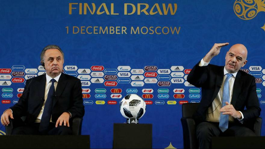 World Cup 2018: who's playing who in Russia next year