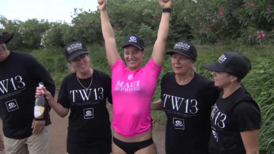 Tyler Wright reste la reine du Surf