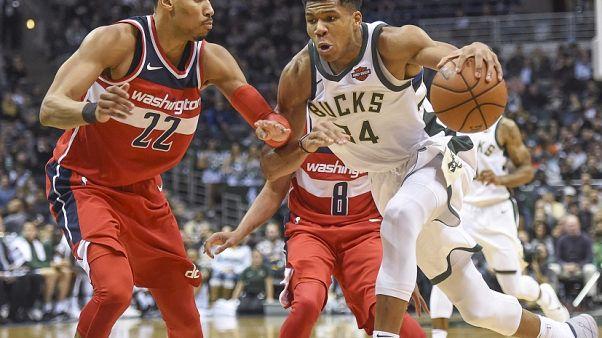 NBA: Bucks auswärts erfolgreich