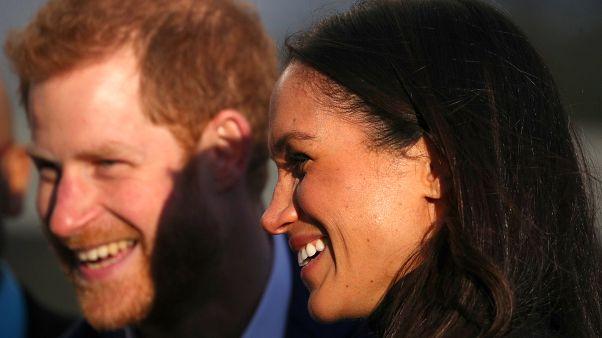 Prinz Harry und Verlobte Meghan: Erstes Bad in der Menge