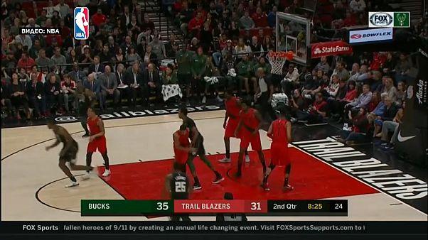 """НБА: """"Портленд"""" прервал победную серию"""