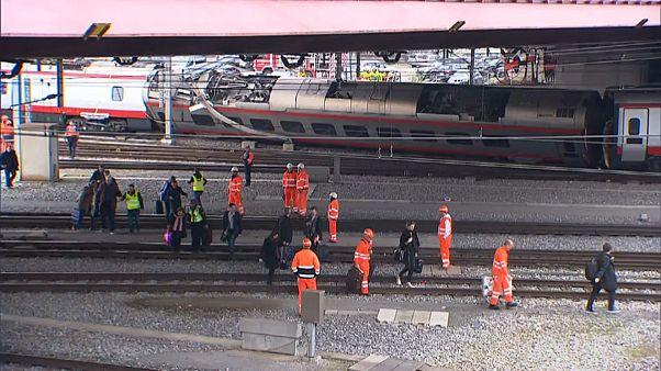Движение поездов восстановлено