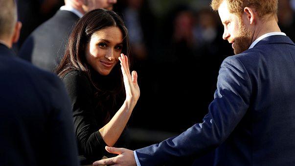 Meghan Markle fait ses premiers pas de future princesse