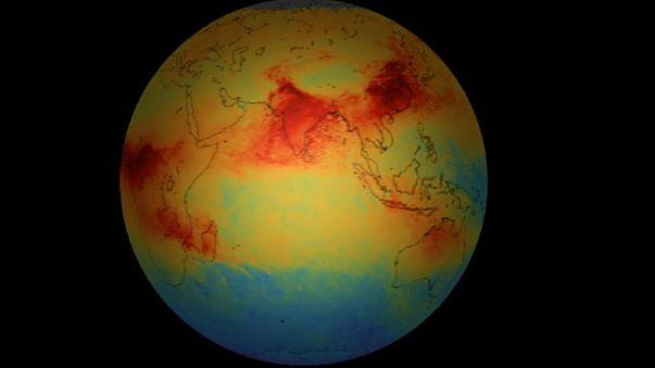 La pollution de l'air vue par Sentinelle 5P