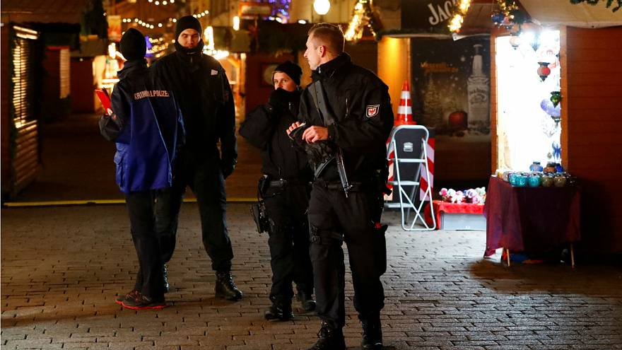 Explosives found at Potsdam Christmas market: German police
