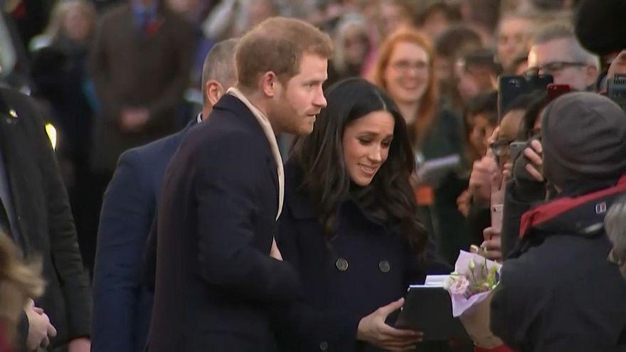 Primer acto oficial de Enrique y Meghan como prometidos