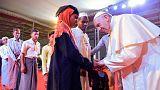 Συνάντηση Πάπα Φραγκίσκου με πρόσφυγες Ροχίνγκια στο Μπαγκλαντές