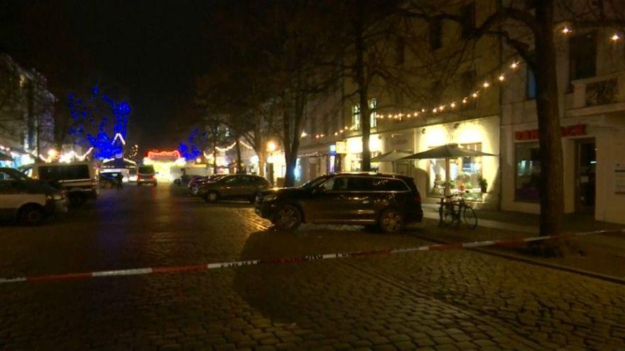 La Policía halla explosivos en el paquete que llevó a evacuar un mercado de Navidad en Potsdam