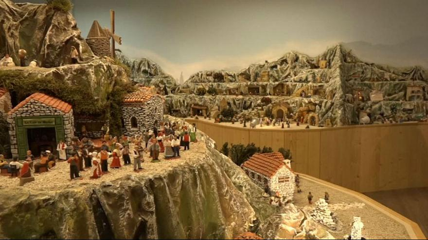 French city creates giant nativity scene with 3,500 figures