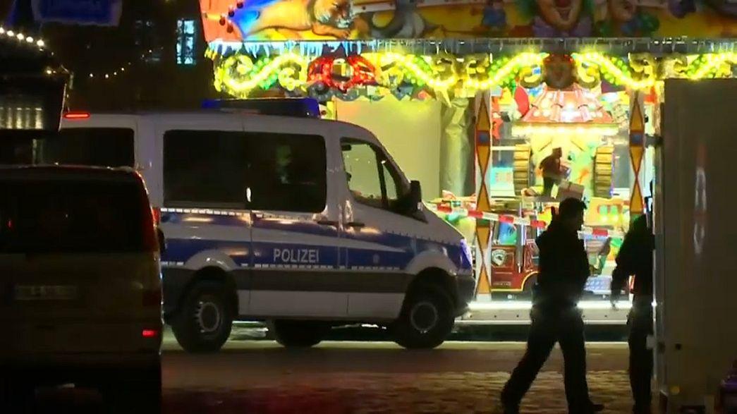 Almanya'da Noel pazarında yine terör kabusu