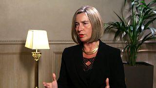 Federica Mogherini appelle à l'unité de la communauté internationale