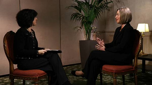 Η Φεντερίκα Μογκερίνι στο euronews