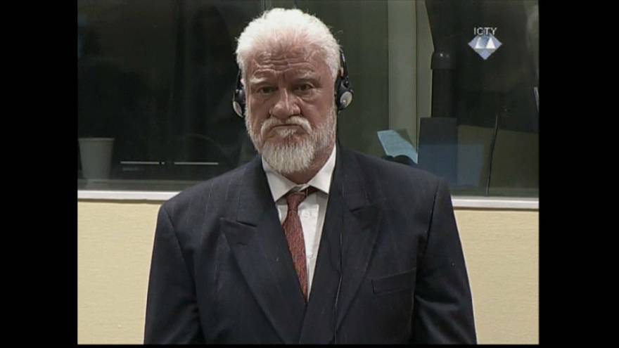 El criminal de guerra Praljak se suicidó con cianuro de potasio
