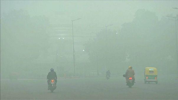 تلوث إلى حد الاختناق في العاصمة الهندية
