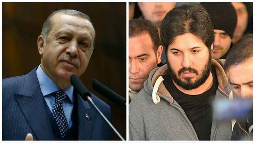 ترکیه اموال رضا ضراب را توقیف می کند