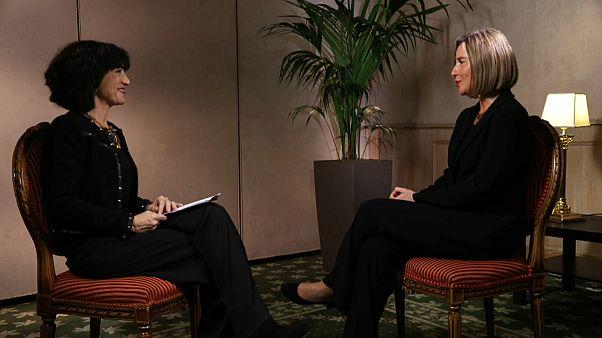 Med Forum 2017: l'intervista di Euronews a Federica Mogherini