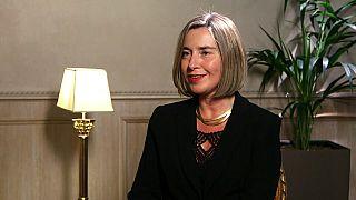Интервью с Федерикой Могерини