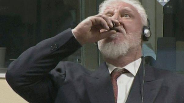 'Hırvat General Praljak potasyum siyanür içerek intihar etti'