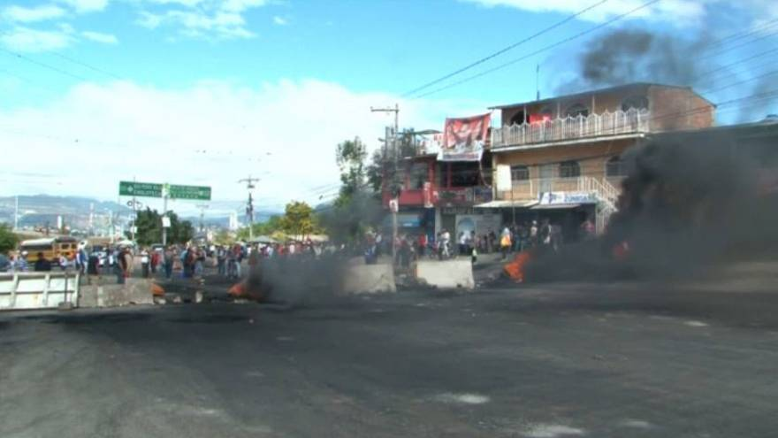 Honduras under curfew