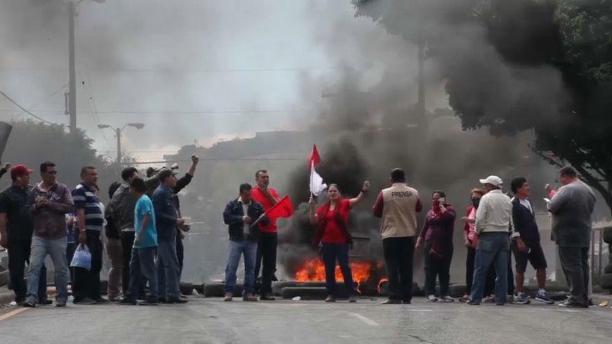 L'état d'urgence décrété au Honduras