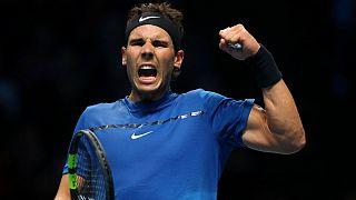 Rafael Nadal fecha 2017 como úmero 1 do ténis mundial