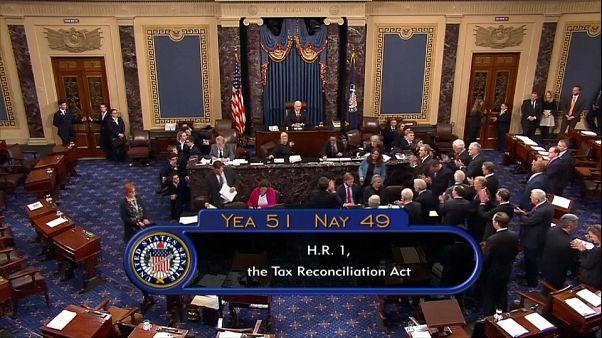 Vittoria di Trump, Senato approva riforma fiscale
