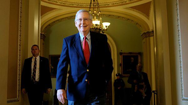 Mitch McConnel, líder da maioria republicana no Senado americano
