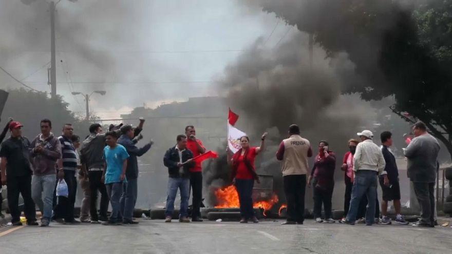 Honduras'ta devlet başkanlığı seçimini şaibeli bulan muhalefet sokağa çıktı