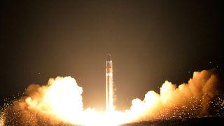 Eine nordkoreanische Interkontinentalrakete.