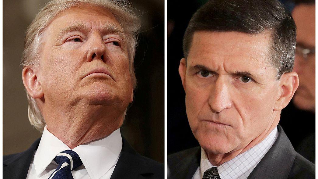 """Trump'tan Flynn yorumu: """"Endişeli değilim, gizli anlaşma yok"""""""