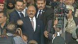 """El expresidente yemení Saleh, dispuesto a """"abrir una nueva página"""""""
