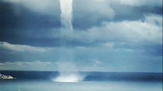 Tornado passou por Sanremo, em Itália