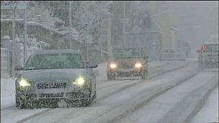 El invierno llega al sur de Europa